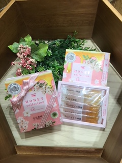 Honey collection blossom