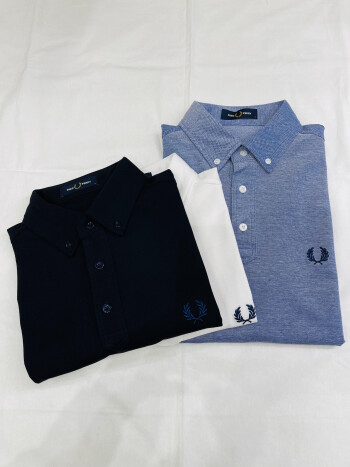 【SHIPS別注】FRED PERRY ボタンダウンポロシャツ